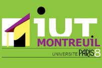IUT Montreuil logo