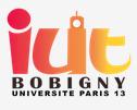 IUT de Bobigny logo