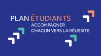 """logo plan étudiant """"accompagner chacun vers la réussite"""""""