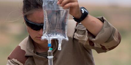 infirmier militaire
