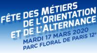 Fetes de métiers de l'orientation et de l'alternance mardi 17 mars 2020