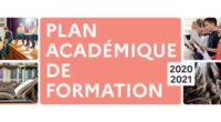 Plan académique de formation 2020 créteil
